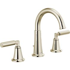 Buy the Delta Brilliance Polished Nickel Direct. Shop for the Delta Brilliance Polished Nickel Bowery GPM Widespread Bathroom Faucet with Pop-Up Drain Assembly - Limited Lifetime Warranty and save. Widespread Bathroom Faucet, Bathroom Faucets, Master Bathroom, Basement Bathroom, Small Bathroom, Bathroom Ideas, Navigation Design, Water Faucet, Steel Wool
