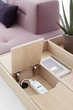 Docks Furniture System for Ophelis by Till Grosch and Björn Meier - Hometone - Home Automation and Smart Home Guide