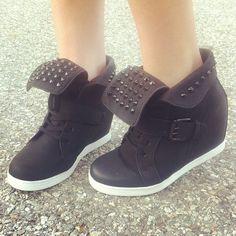 e38c6ebe0d30 Kick bad style to the curb.  gojane  sneaker  wedge  sneakerwedge  . Jordans  ...