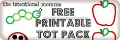 Free Printable Tot Pack for Toddler, Super Simple, 10 pages, preschool homeschool, coloring tracing pages, activities, games, flashcards