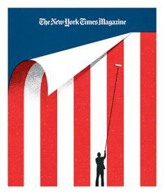 New York Times Sunday MagazineCover of The New York Times Sunday Magazine after the inauguration of President Barack Obama. The issue outlined the major causes the new administration must tackle to repair America.