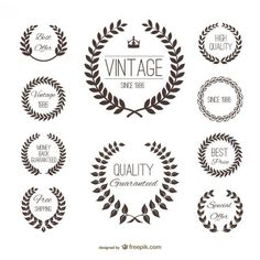 http://www.freepik.com/free-vector/label-wheat-silhouette-set_731689.htm