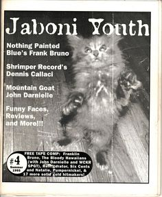 Jaboni Youth fanzine