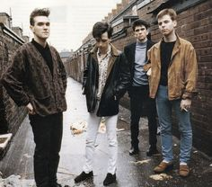 The Smiths are my favorite band and I have always looked up to Morrissey as a fashion icon.
