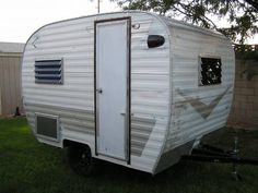 1964 Cardinal 10 ft. restored Camping Trailer