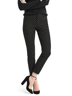 Gap Bi-stretch Skinny Ankle Pants.
