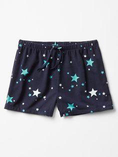 Printed PJ shorts - Gap Kids