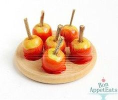 how to: candy apples