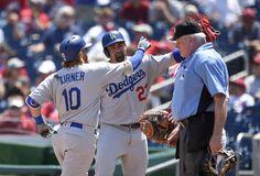 Turner impulsó 5 en primera derrota de Strasburg y Dodgers ganan serie ante Nationals.