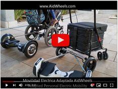 Motor acompañante auxiliar para sillas de ruedas y carritos