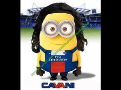 Cavani's Football Minion