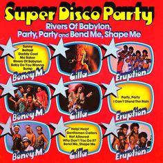 Various - Super Disco Party (Boney M., Eruption, Gilla) GER  78 LP Vinyl