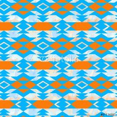 Navajo aztec textile inspiration pattern. Native american indian ...