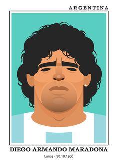 #elpibedeoro - Image of Diego Armando #Maradona by stanley chow