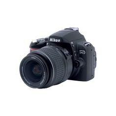 Nikon D40, la reflex digitale per tutti - Tom's Hardware ❤ liked on Polyvore featuring camera, electronics, accessories, fillers and random