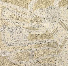 Carlene Thompson - Kalaya ngura - 51 x 51 cm http://www.aboriginalsignature.com/art-aborigene-ernabella/carlene-thompson-kalaya-ngura-51-x-51-cm