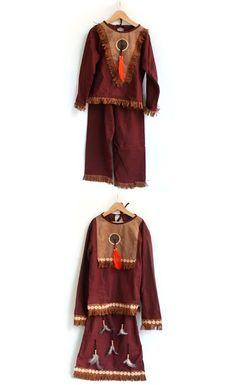 #indianerkostüm #junge #mädchen #indianerin #verkleiden Mehr Kostüme und Accessiores unter www.haseweiss.de