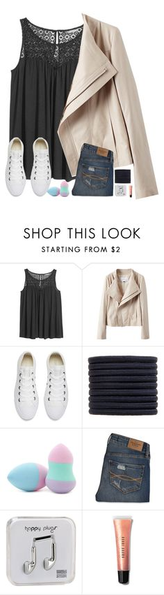 """""""Don't throw shade, throw shine!(RANT)"""" by artemishunters ❤ liked on Polyvore featuring H&M, Converse, New Look, Forever 21, Abercrombie & Fitch, Happy Plugs, Bobbi Brown Cosmetics and maristories"""