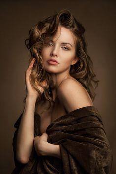 Warm portrait by Alexander Schlesinger on 500px,Model Kristina Yakimova