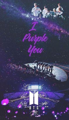 I purple you! Army Wallpaper, Bts Wallpaper, Summer Wallpaper, Foto Bts, Bts Taehyung, Bts Jimin, Bts Memes, Bts Army Bomb, Bts Cute