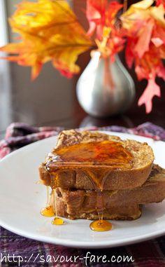 Pumpkin Pie French Toast by Savour Fare, via Flickr