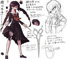 Toko Fukawa (Genocide Jack) - Danganronpa