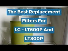 The Best Replacement Filters For LG – LT600P And LT800P - YouTube Water Dispenser, Knowledge, Water Filters, Good Things, Refrigerators, Pretty Face, Ice, Models, Popular