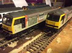 60 050 (2 now) Roseberry Topping in Loadhaul livery by Lima Acquired 26/01/16 from evilBay