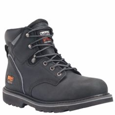 These waterproof Timberland PRO Endurance steel toe boots are built for job  site performance.
