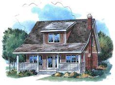 CapeCod House Plan ID: chp-14583 - COOLhouseplans.com