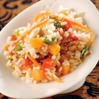 Receta de Cazuela de arroz con verduras