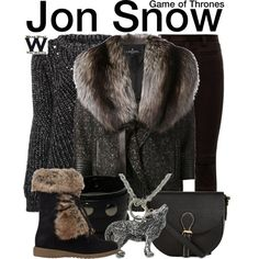 Game of Thrones by wearwhatyouwatch on Polyvore featuring J. Mendel, Haider Ackermann, Barneys New York, television and wearwhatyouwatch