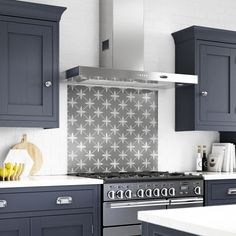 Laura Ashley Wicker Charcoal Glass Kitchen Splashback x - Kitchen Splashback Tiles, Kitchen Countertops, Splashback Ideas, Splashbacks For Kitchens, Cottage Kitchen Backsplash, Kitchen Soffit, Floors Kitchen, Backsplash Ideas, Kitchen Cabinets