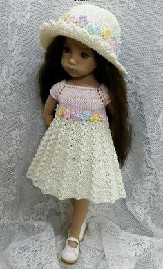 Image gallery – Page 540924605241643245 – Artofit Knitting Dolls Clothes, Ag Doll Clothes, Crochet Doll Clothes, Clothes Crafts, Knitted Dolls, Doll Clothes Patterns, Pretty Dolls, Beautiful Dolls, Girl Dolls