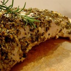 "Grecian Pork Tenderloin | ""Great flavor, and super juicy. Loved this recipe."""