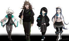 danganronpa v3 ultimate robot kiibo shunichi ultimate detective ultimate cosplay ultimate pharmacist(?)