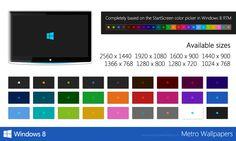 Windows 8 Metro Wallpapers by WarrenClyde.deviantart.com on @deviantART