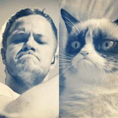 Who is it!? :) (not the cat...everyone already knows) >> Dan!