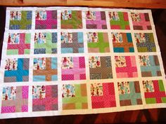 Twin size QUILT TOP Featuring retro camping by EmilHansDesigns