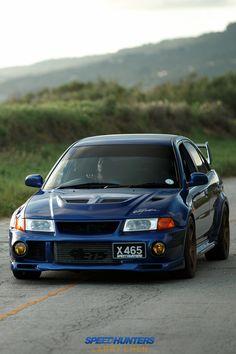 "camber: ""Mitsubishi Evo VI @ SpeedHunters. """