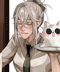 Anime Oc, Chica Anime Manga, Fanarts Anime, Anime Demon, Anime Characters, Cute Asian Girls, Cute Girls, Anime Warrior Girl, Haikyuu Anime