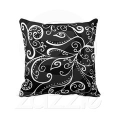 Silent Era Throw Pillow from Zazzle.com