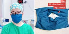 The Taiwanese doctor teaches how to make a fabric face mask with an air filter, so no need .The Taiwanese doctor teaches how to make a fabric face mask with an air filter so that Sewing Patterns Free, Free Sewing, Free Pattern, Pocket Pattern, Pattern Fabric, Pattern Sewing, Sewing Diy, Diy Mask, Diy Face Mask
