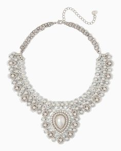 charming charlie | Exotic Pearl Necklace (this is kind of ridiculous but I LOVE IT)
