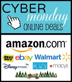 Cyber Monday Starts NOW! HUGE Roundup of Store Deals!