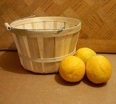 Wooden Peck Baskets To Make Fruit Basket Center Pieces Farmer S Market Online Farmers Supply