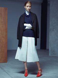 Julia Bergshoeff by Karim Sadli for Vogue UK January 2015