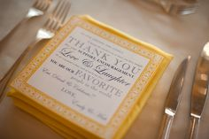 Thank you cards ~ so lovely ~ by the bride's father ~ http://fillitcomm.com /   Photography by Laurie Bailey