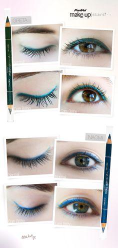 No Make It: Delineadores coloridos para olhos da Panvel Make Up!