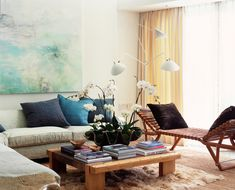 Venice Canals - modern - living room - los angeles - Digs By Katie | Katie Leede & Company